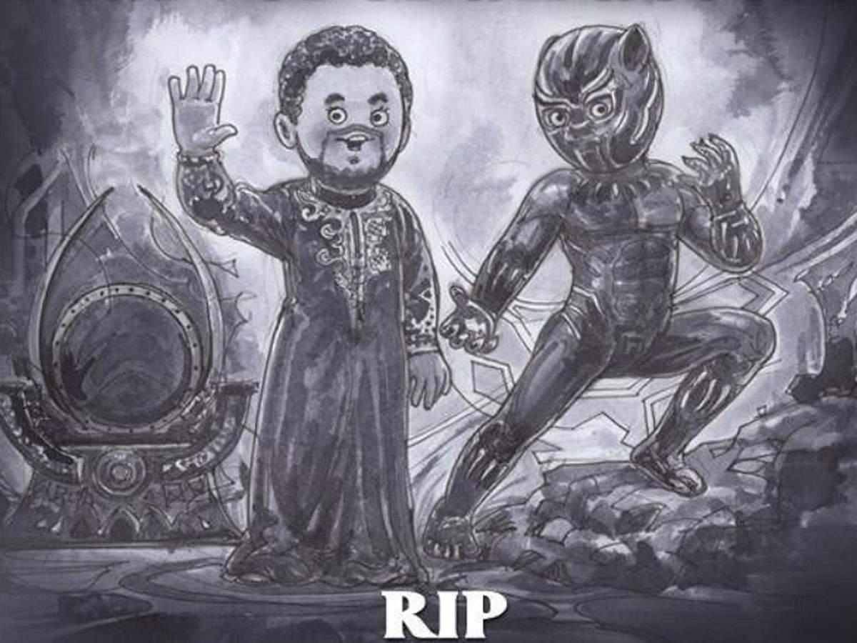 Rip King Of Wakanda Amul Pays Touching Tribute To Late Black Panther Star Chadwick Boseman English Movie News Times Of India