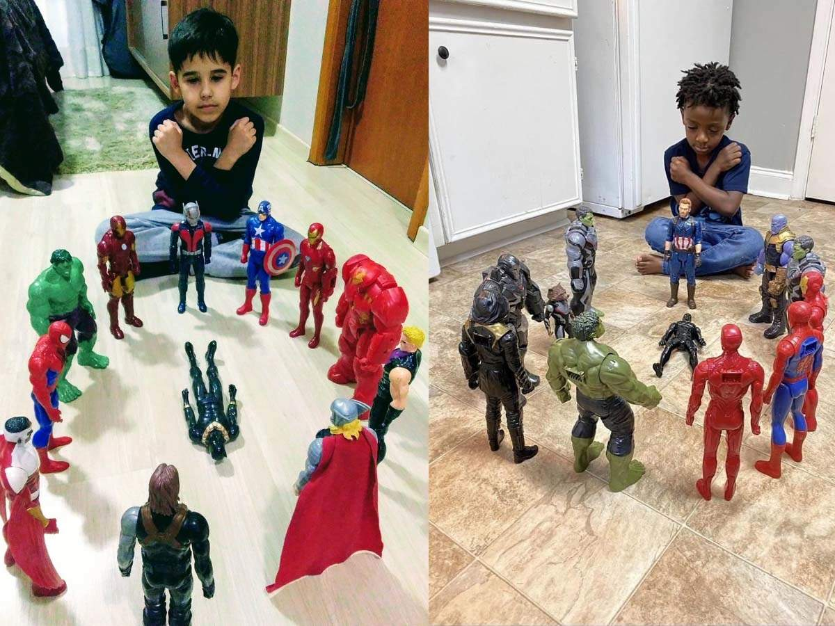 Netizens Share Pictures Of Children Holding Black Panther Funeral As Chadwick Boseman Passes Away English Movie News Times Of India