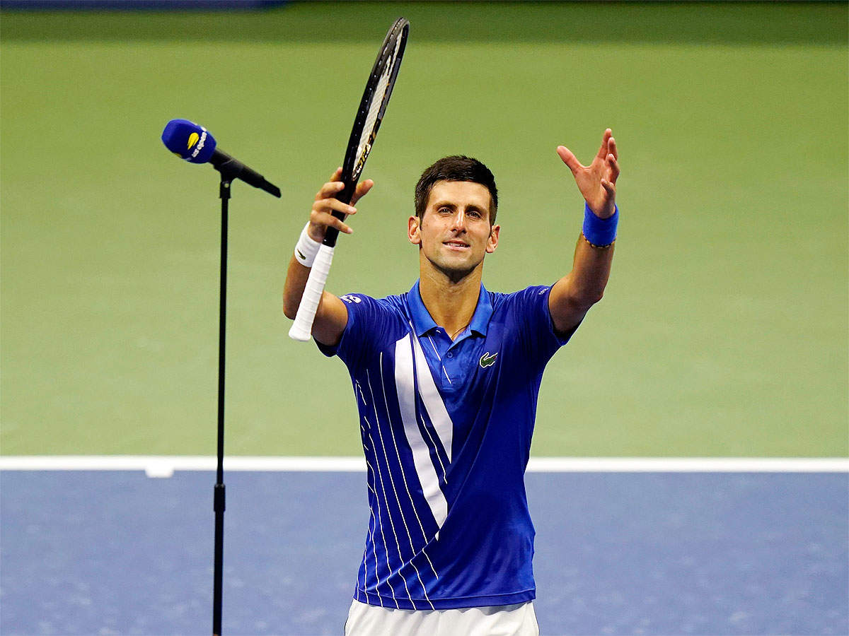 Stressed Out Novak Djokovic Brings Intensity To Atmosphere Free Us Open Tennis News Times Of India