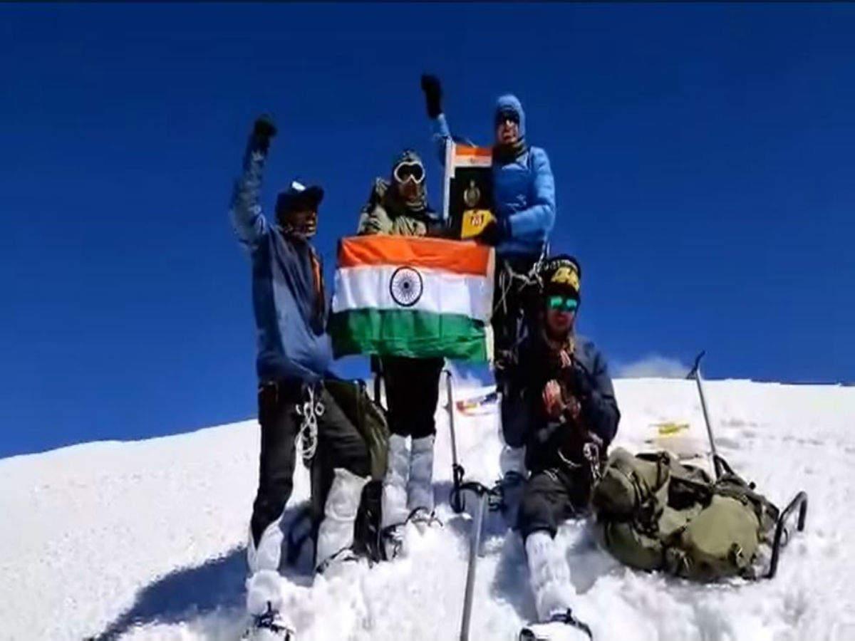 Indo-Tibetan Border Police (ITBP) mountaineers summit Himachal's Leo Pargil Peak