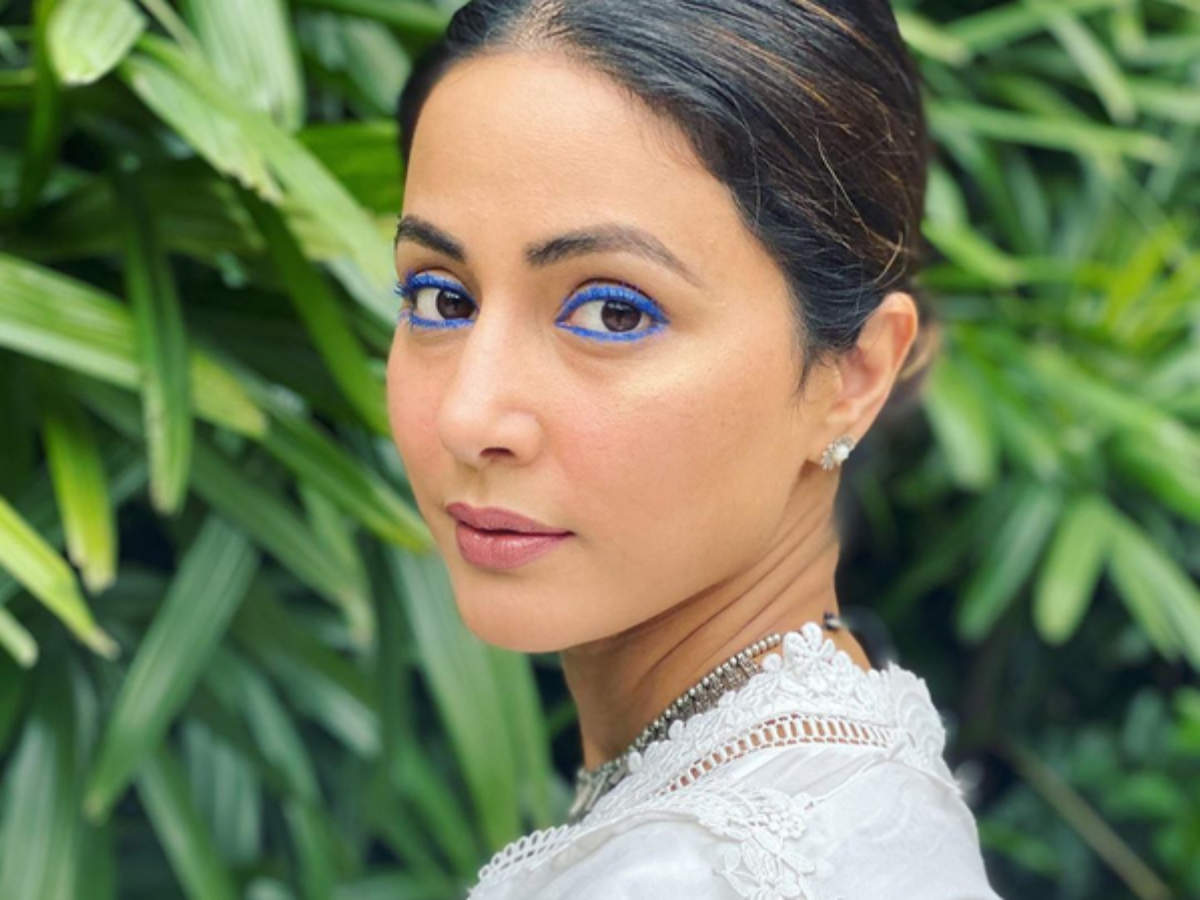 8 times Hina Khan experimented with her eye make-up looks - Times of India