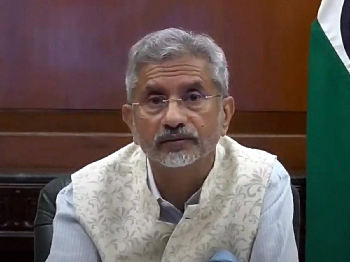 State of border cannot be de-linked from state of relationship: Jaishankar  on ties with China | India News - Times of India