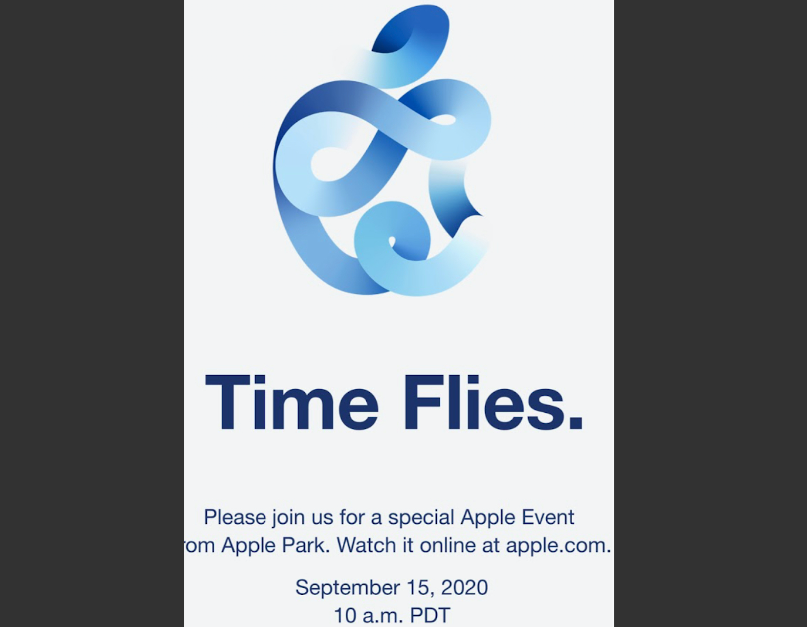 Apple Announces Date Of Its Next Big Event Of 2020 Times Of India