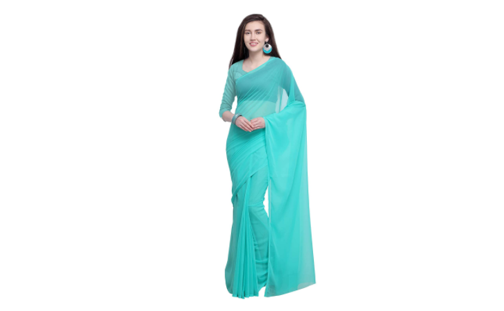 Sarees For Women Beautiful Printed Sarees In Lightweight Georgette Most Searched Products Times Of India,Attractive Simple Butterfly Corner Border Designs For Projects