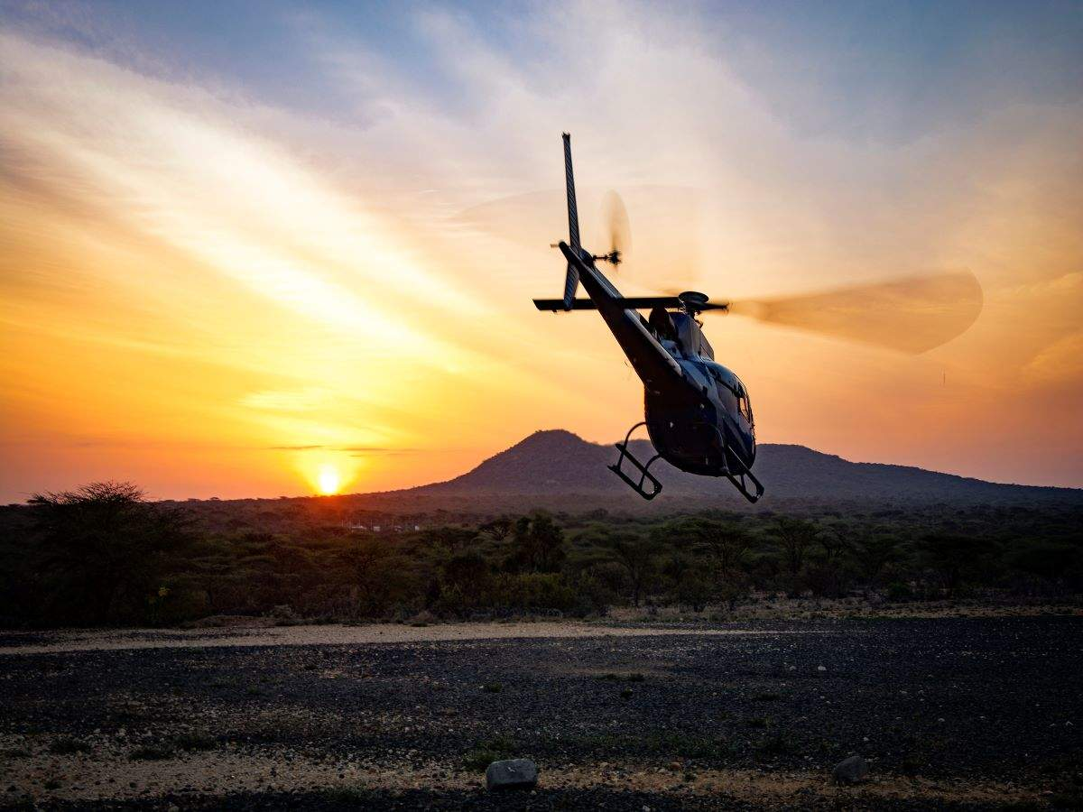When in Coimbatore, you can book chopper rides to visit tourist hotspots
