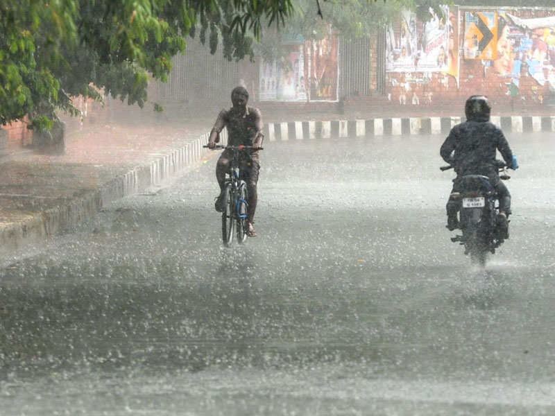 Rain in Chennai: It's going to be a cloudy Monday with light rain, says Met  forecast | Chennai News - Times of India