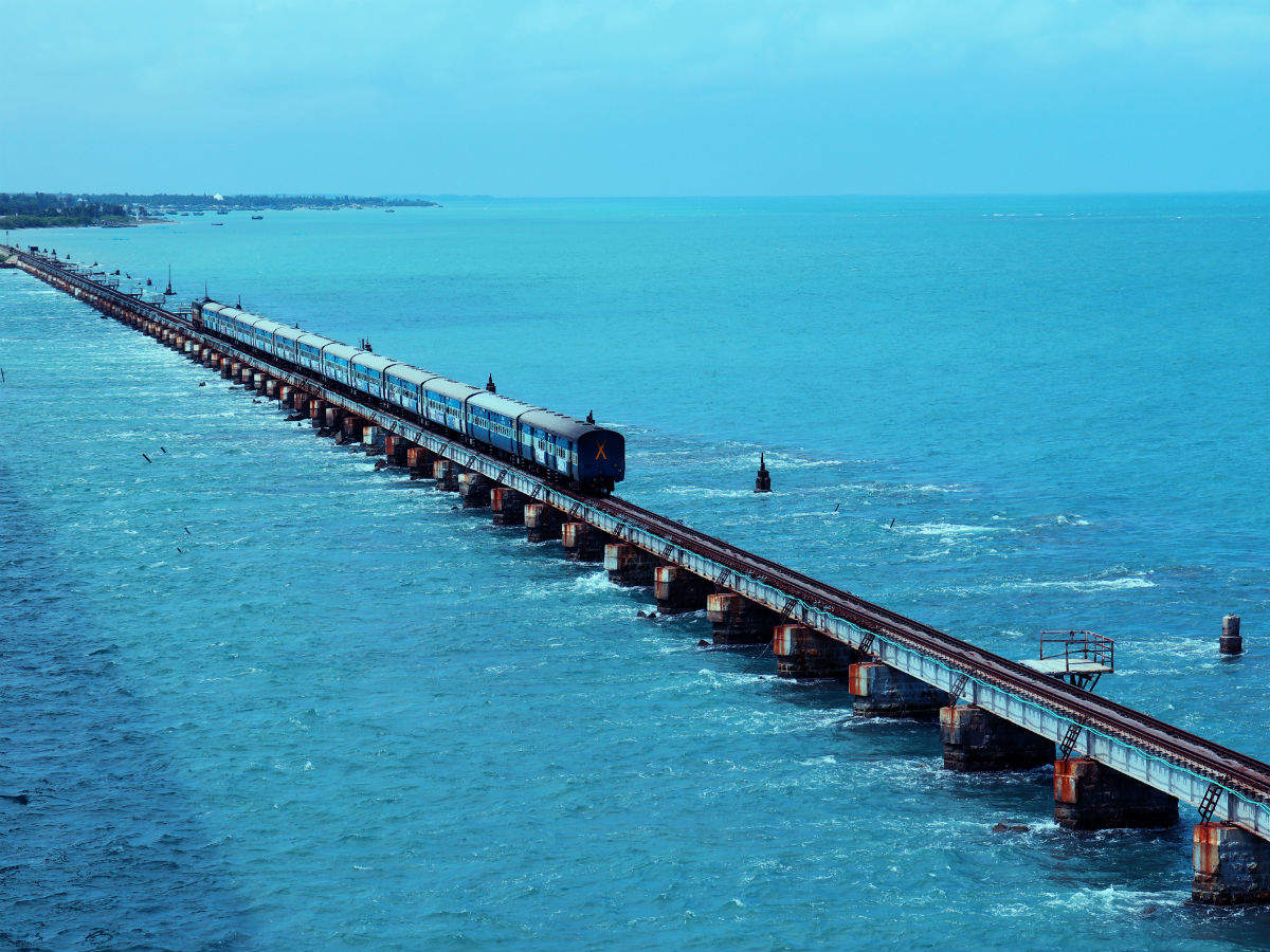 Coming soon: India's first vertical lift sea rail bridge in Rameshwaram