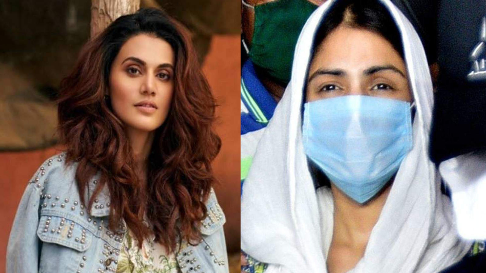 Taapsee Pannu reveals she felt compelled to speak for Rhea Chakraborty while Kangana Ranaut's words don't affect her
