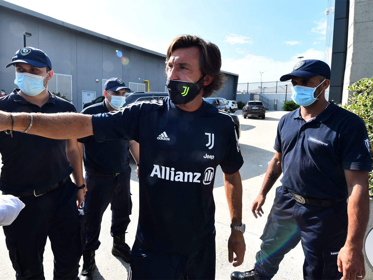 Juventus Andrea Pirlo Gamble Makes Serie A Season The Most Open For Years Football News Times Of India