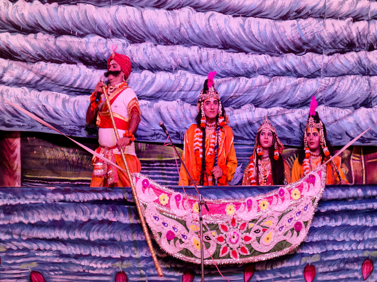 Varanasi's famous Ramleela will be enacted using wooden puppets this year