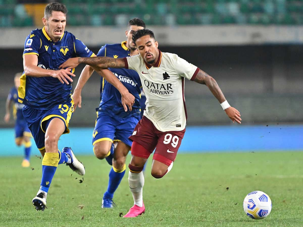 Serie A As Roma Held Fiorentina Win As Serie A Starts While Awaiting Fans Football News Times Of India