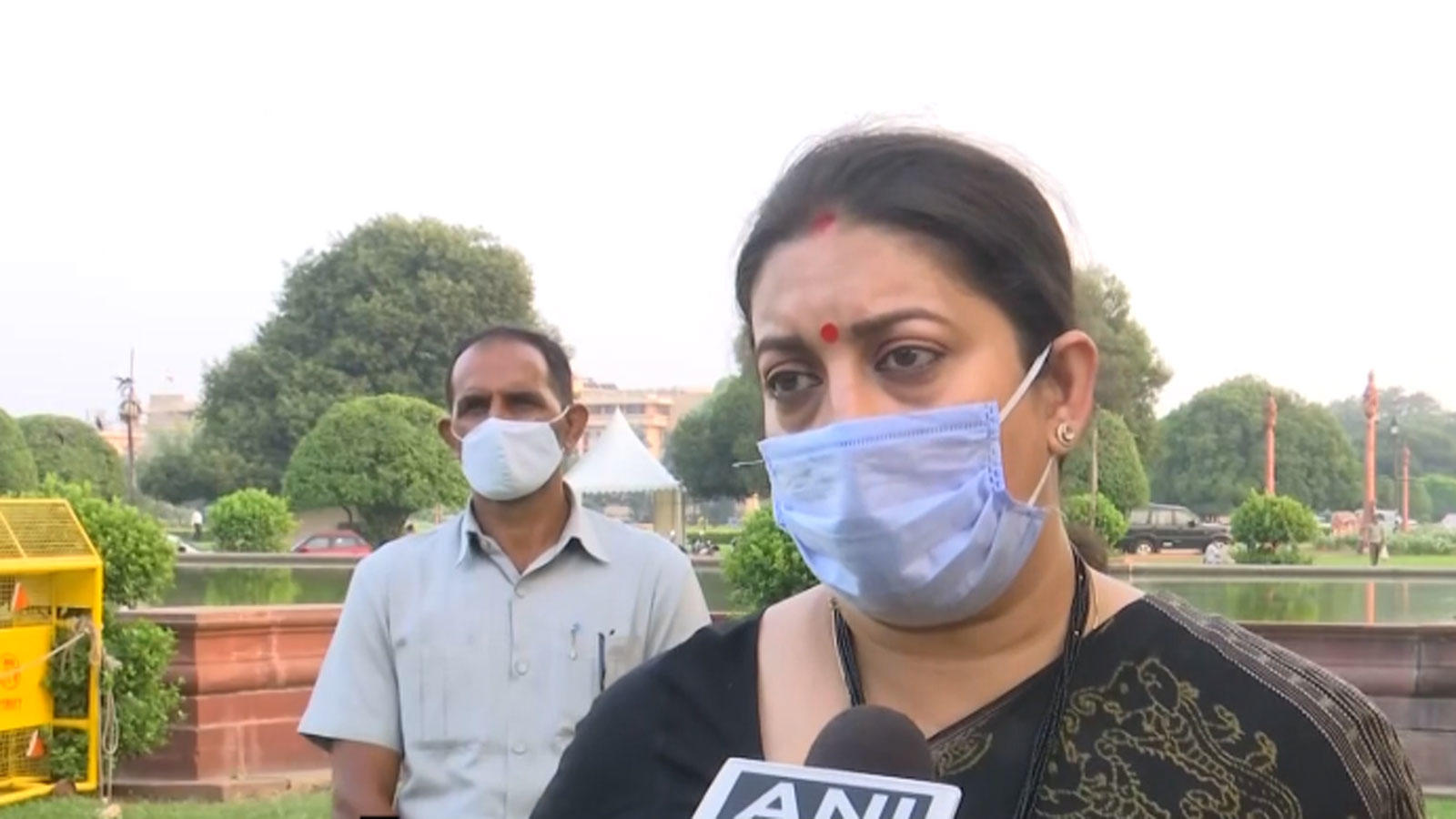 behaviour-of-mps-in-rajya-sabha-was-saddening-smriti-irani