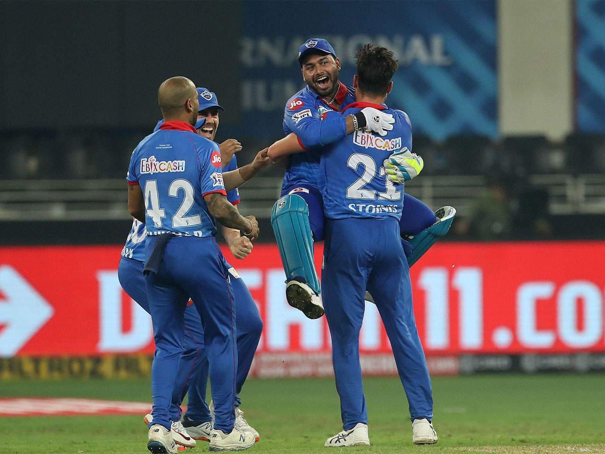 Dc Vs Kxip Highlights Ipl 2020 Delhi Capitals Trump Kings Xi Punjab In Super Over Thriller Cricket News Times Of India