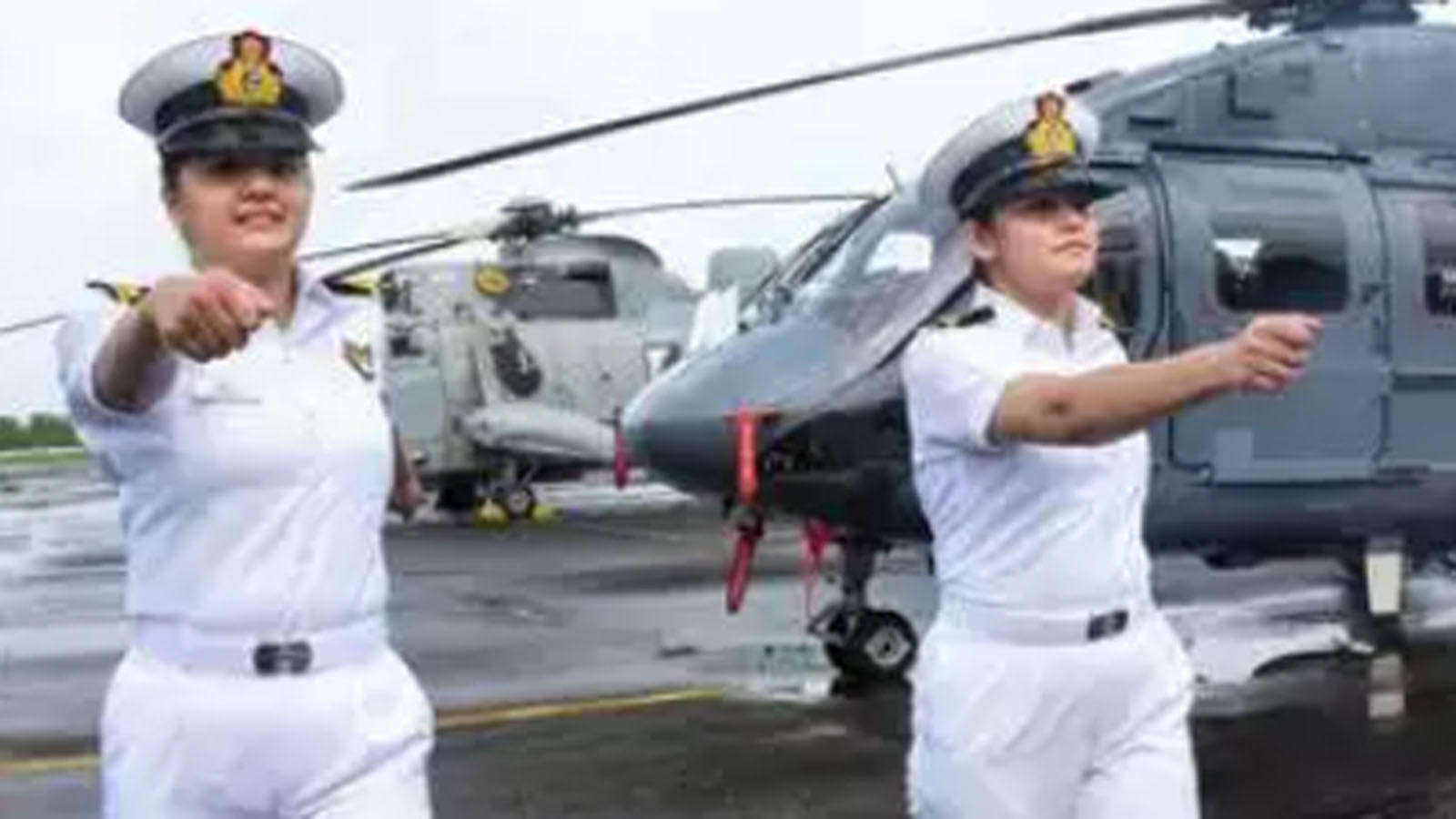two-women-officers-to-operate-helicopters-from-indian-navy-warships