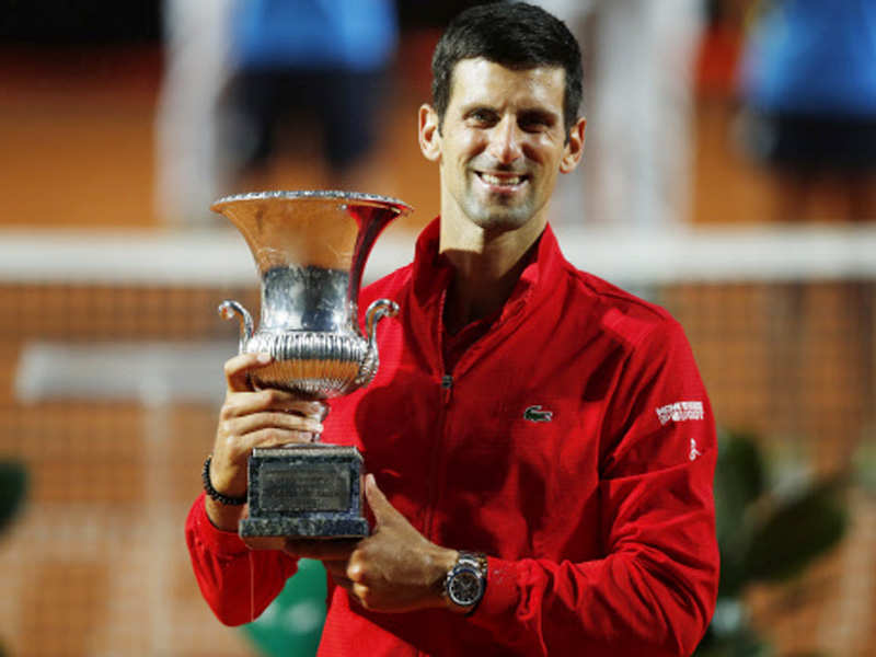 Djokovic Wins Fifth Italian Open To Make Masters History Tennis News Times Of India