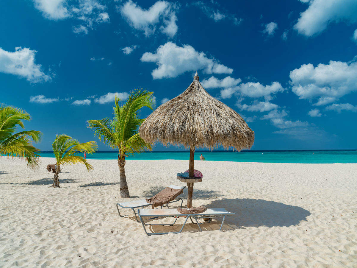 All those working from home can do the same from Aruba's gorgeous islands instead