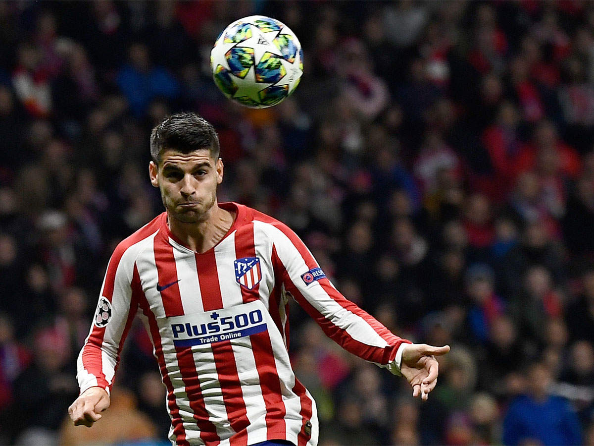 Alvaro Morata Returns To Juventus On Loan From Atletico Madrid Football News Times Of India
