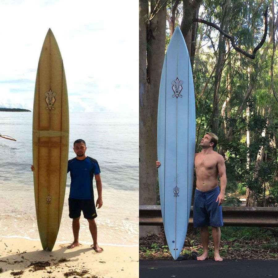 The tale of a travelling surfboard—lost in Hawaii found in Philippines, two years later!