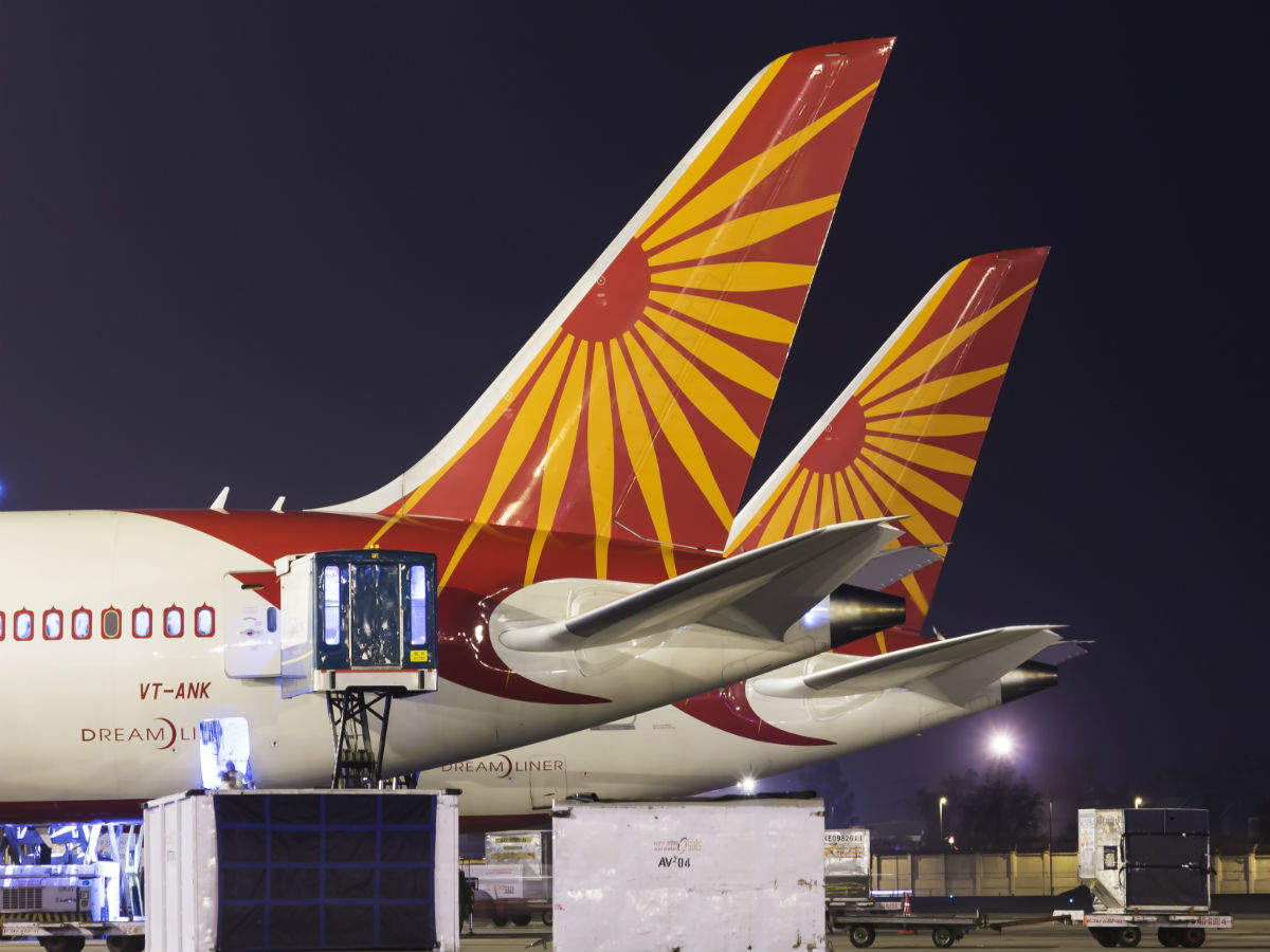 What is Air India's flight to nowhere?