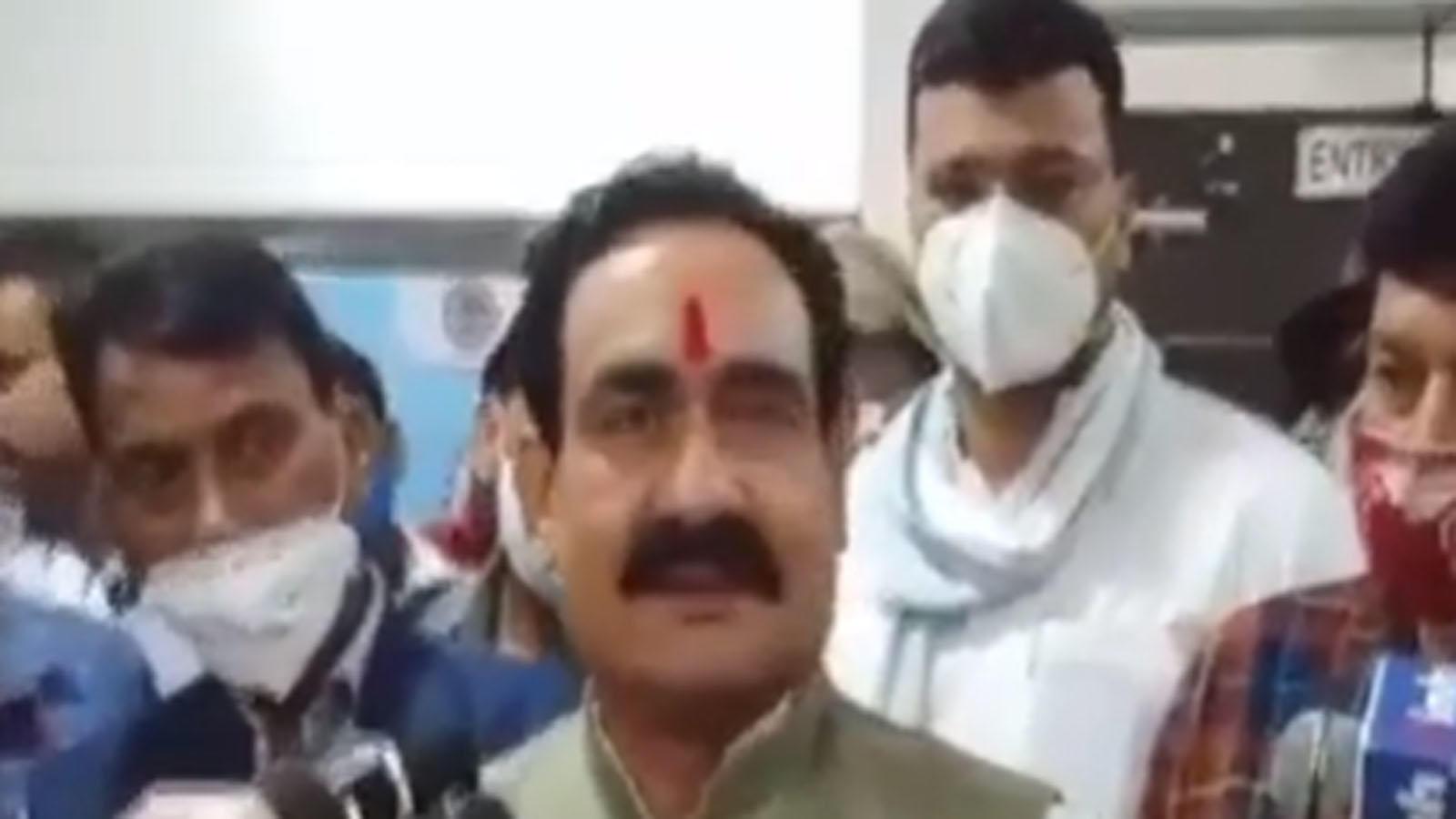 i-dont-wear-a-mask-mp-home-minister-narottam-mishra