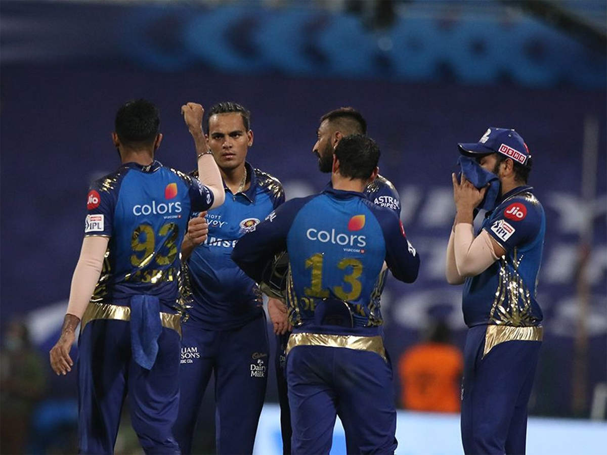 Kkr Vs Mi Highlights Ipl 2020 Mumbai Indians Crush Kolkata Knight Riders By 49 Runs Cricket News Times Of India