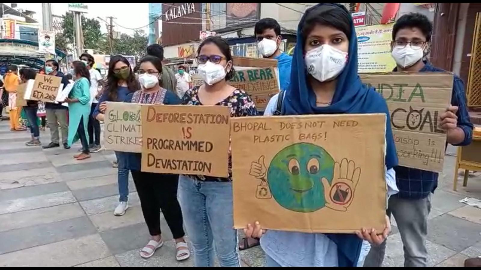 bhopal-climate-change-activists-participate-in-global-climate-strike
