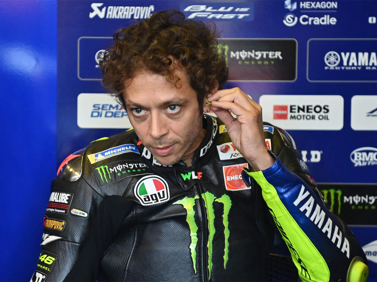 Valentino Rossi 41 Signs Up For Another Year In Motogp Racing News Times Of India