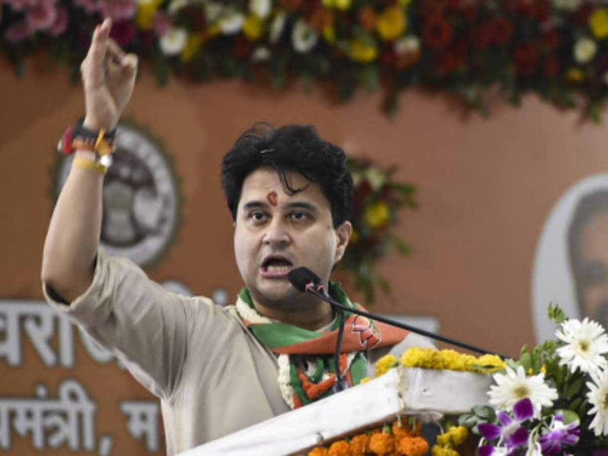 Congress has betrayed trust of farmers, women, youth of MP: Jyotiraditya Scindia