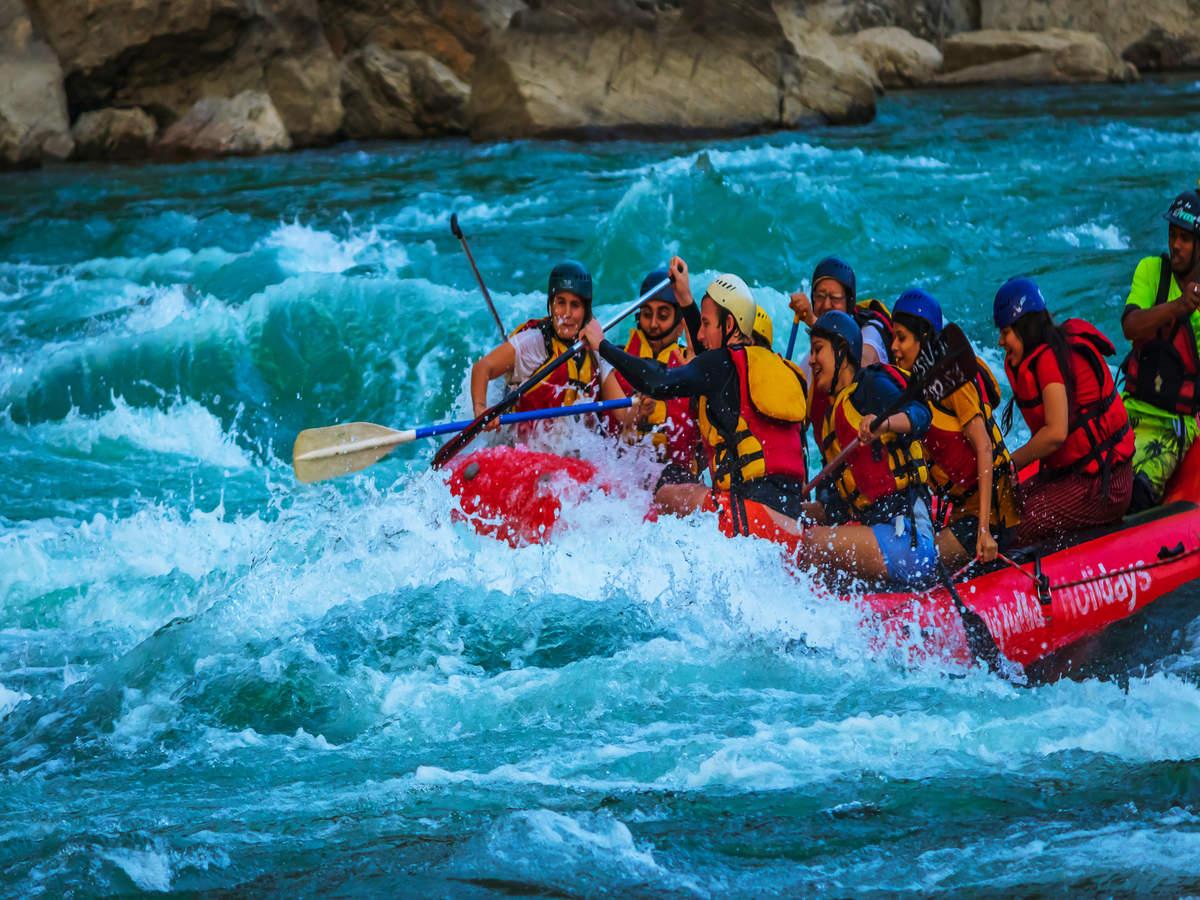 Ganga river rafting begins in Rishikesh