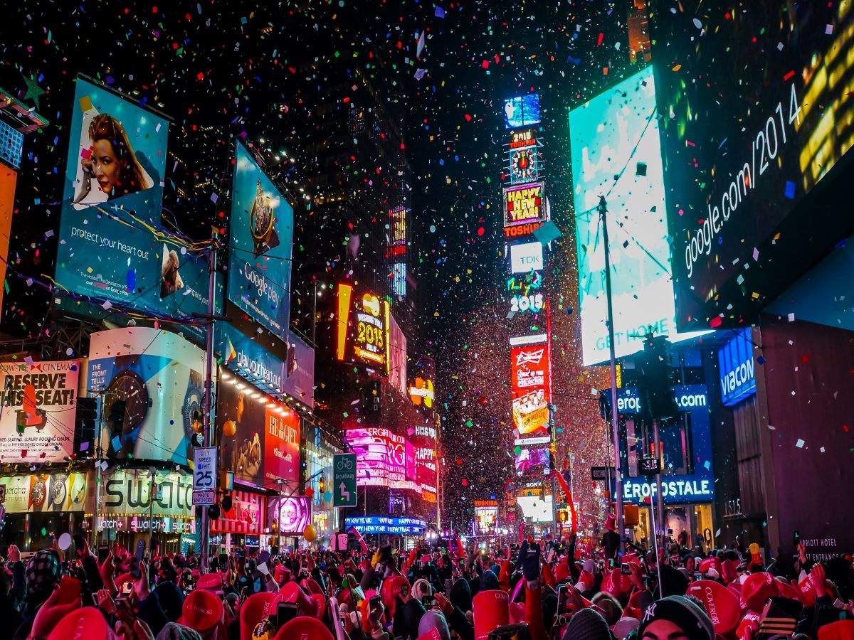 Times Square's iconic New Year's ball dropping to go virtual, for the first time in a century