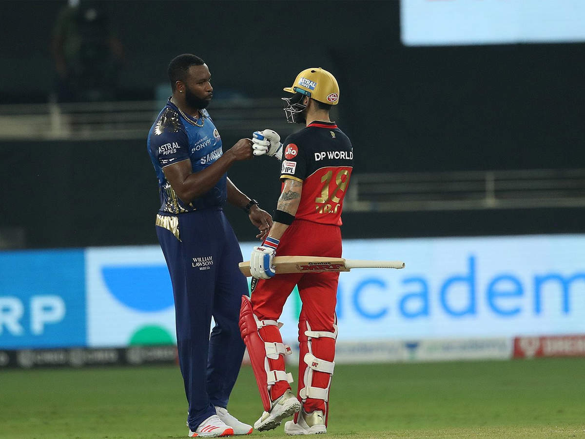 RCB vs MI Highlights, IPL 2020: Royal Challengers Bangalore beat Mumbai Indians in Super Over   Cricket News - Times of India