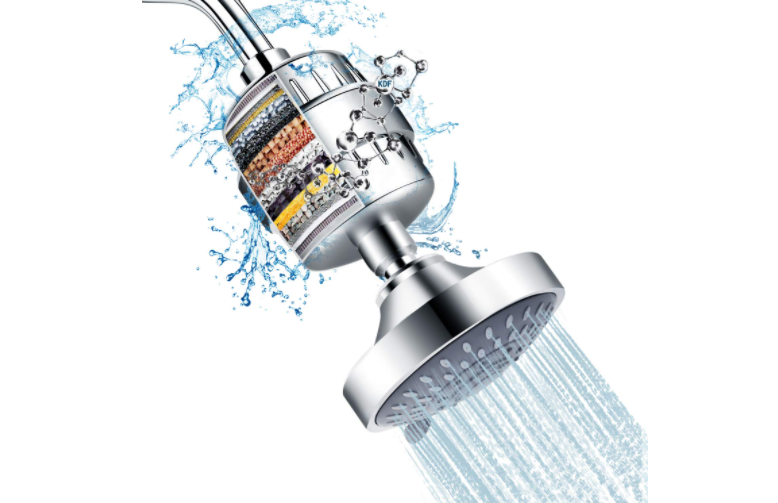 15 Stage Shower Head Filter Purifier Cartridge For Hard Water Softening
