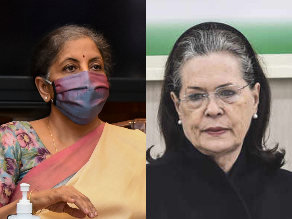 Sitharaman slams Sonia's 'bypass Centre farm laws' advice to party-ruled states, cites Cong's 2019 manifesto