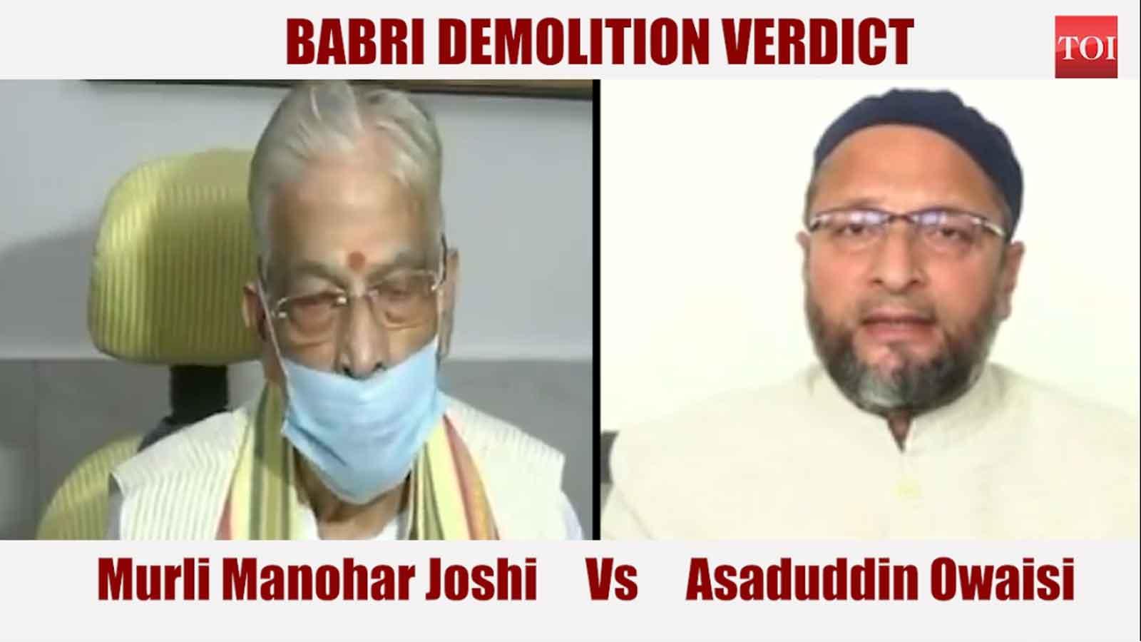 babri-demolition-bjp-vs-owaisi
