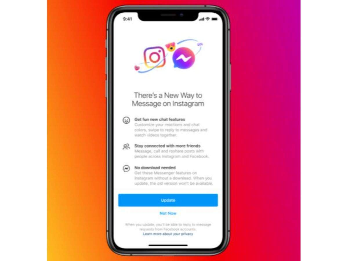 Instagram Lite Messenger Facebook Is Making Instagram A Lot Like Messenger Here S How Times Of India
