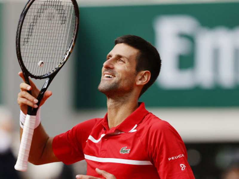Djokovic storms to 70th win at Roland Garros | Tennis News - Times of India