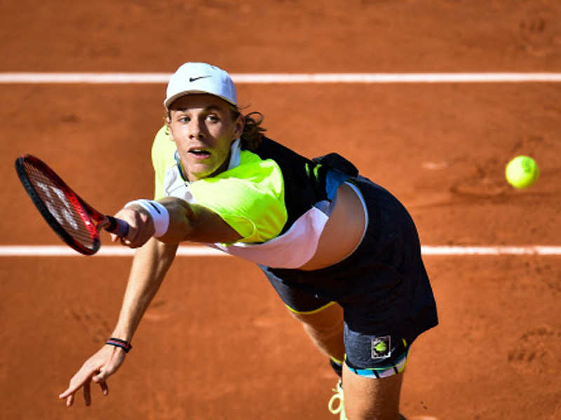 Shapovalov fumes at 'trash' scheduling at Roland Garros | Tennis News -  Times of India