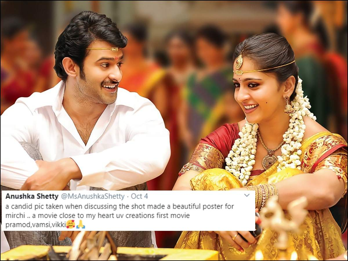Here Is What Anushka Has To Say About This Viral Wedding Photo With Prabhas Telugu Movie News Times Of India