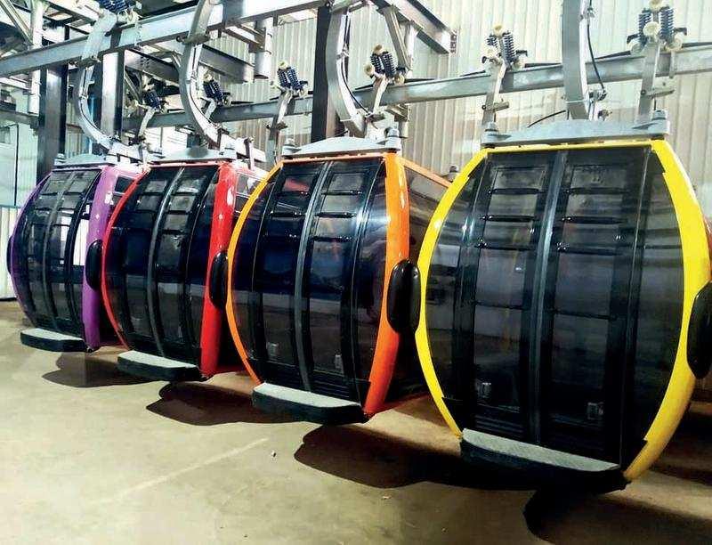 Gujarat: Girnar ropeway may unveil on November 9 | Rajkot News - Times of  India