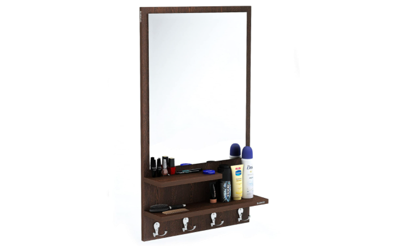 Stylish Mirrors With Shelves That Ll, Wall Hanging Mirror With Storage