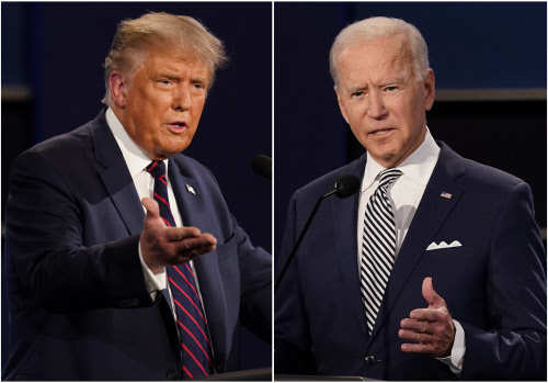 US Elections 2020 live updates: Biden is dominating Trump on the airwaves in battlegrounds : #IstandwithKamala: Online campaign in support of Harris after Senator mispronounces her name - The Times of India