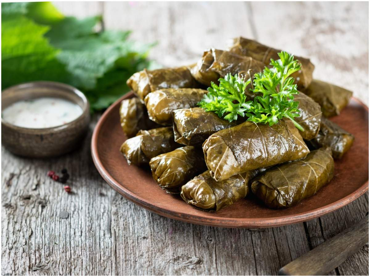 5 Reasons To Cook With Vine Leaves At Home Times Of India