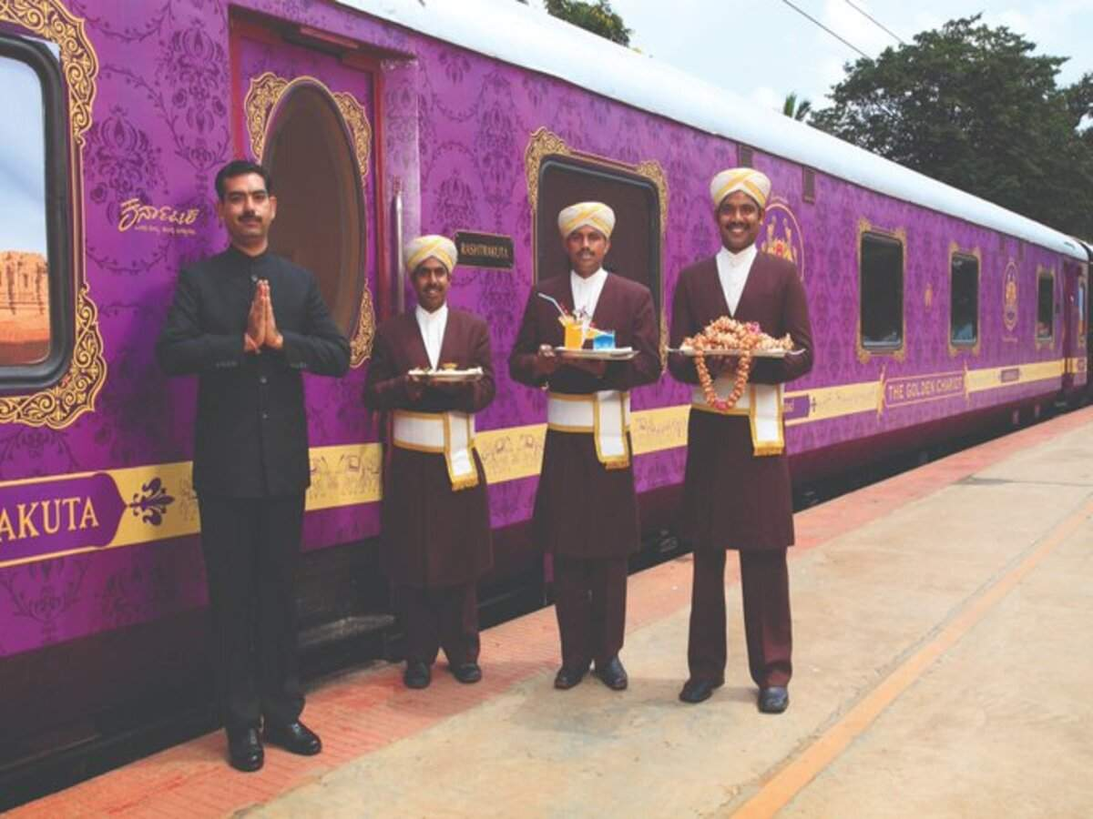 Karnataka's alluringly luxurious train, the Golden Chariot, to be on tracks this January