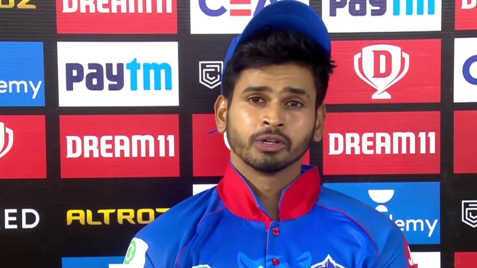 ipl-2020-dc-skipper-shreyas-iyer-hails-shikhar-dhawans-performance