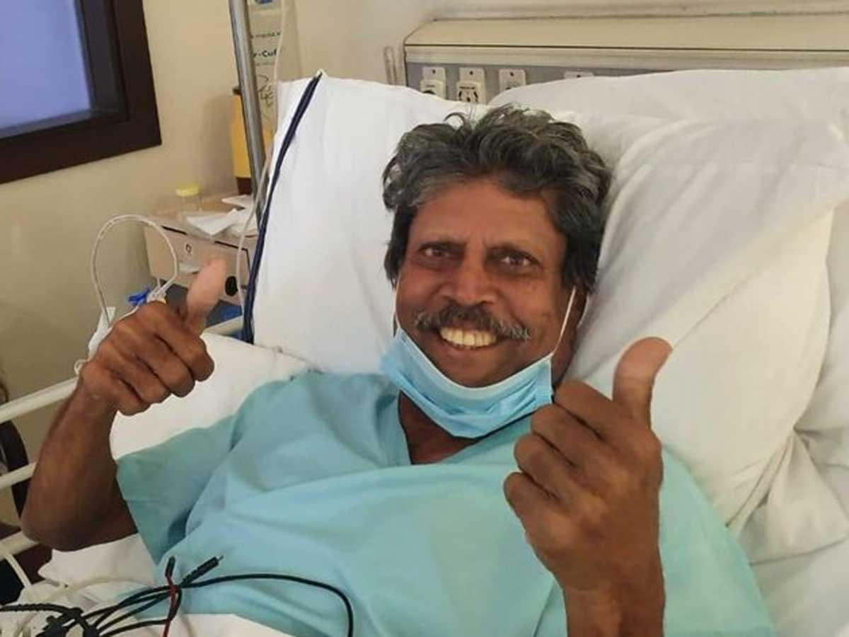 Kapil Dev: India's cricket legend Kapil Dev on 'road to recovery' after heart surgery | Cricket News - Times of India