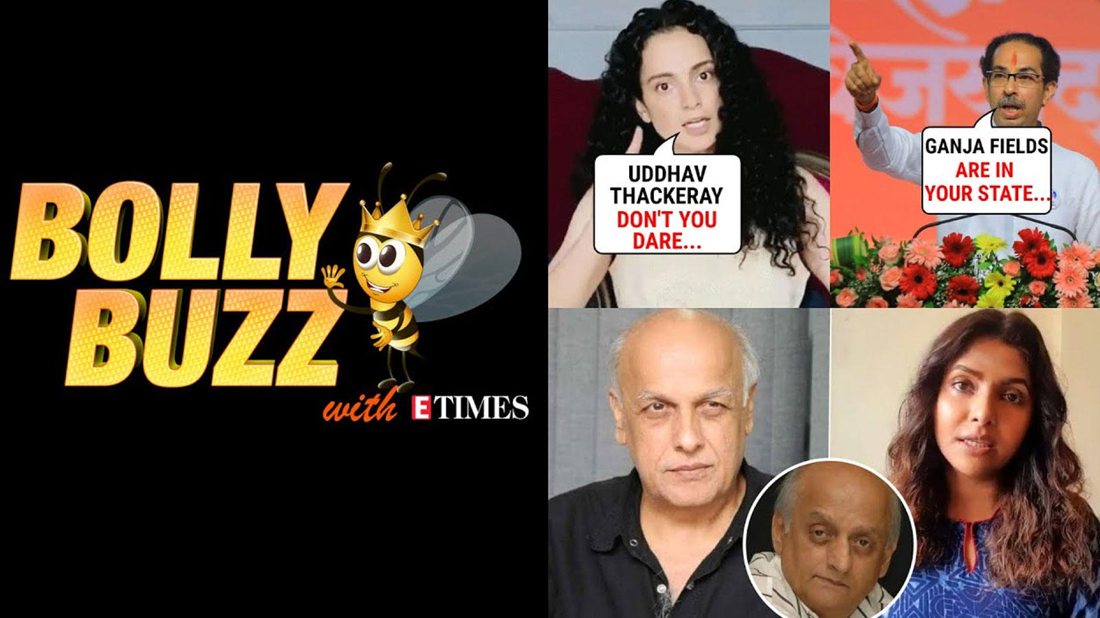 bolly-buzz-kangana-lashes-out-at-cm-uddhav-thackeray-mukesh-bhatt-slams-luviena-lodhs-allegations