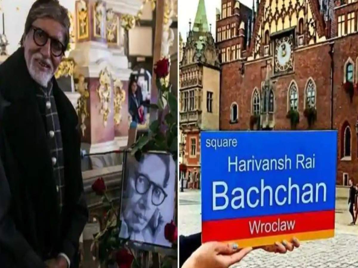 A square in Poland is named after Harivansh Rai Bachchan, a look at the city's love affair with the Bachchans