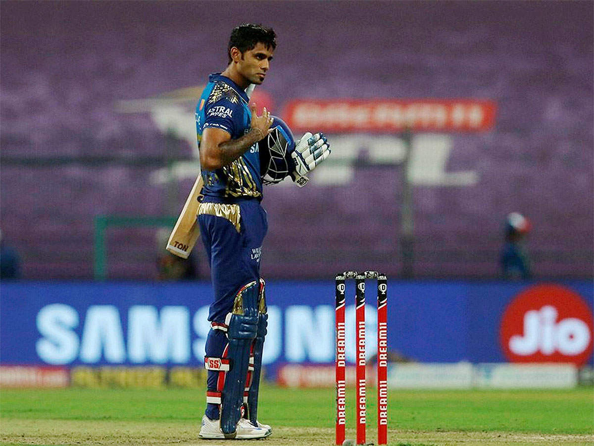 MI vs RCB 2020: Suryakumar Yadav responds to India snub by taking Mumbai  Indians to victory against Royal Challengers Bangalore | Cricket News -  Times of India