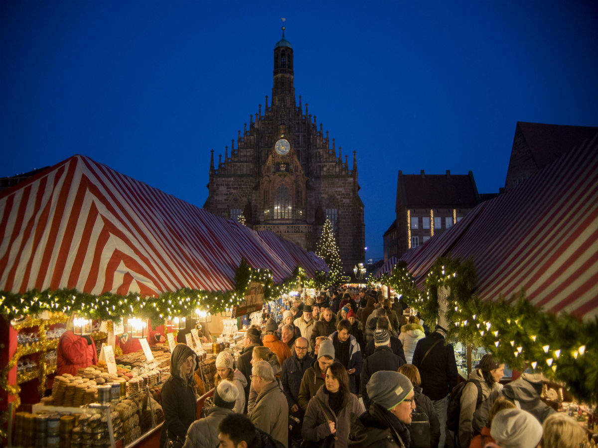 Germany's famous Nuremberg Christmas Market cancelled for the first time since World War II over COVID-19 fear