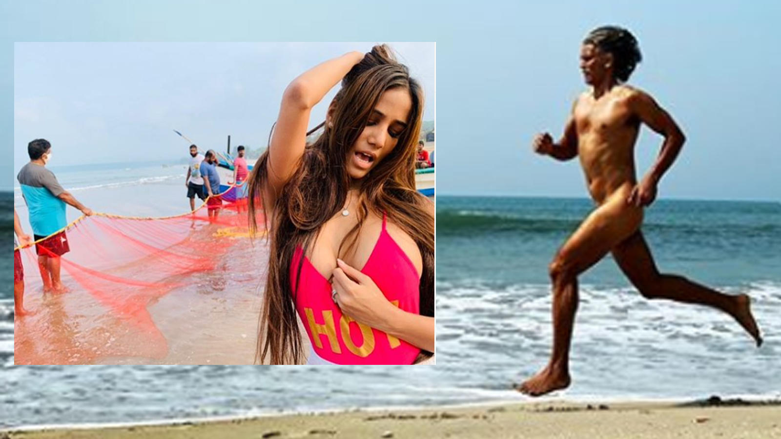 Girls nude beach selfie group Fir Against Milind Soman For Running Naked On A Goa Beach After Netizens Call Out Authorities For Their Hypocrisy Over Poonam Pandey S Arrest Hindi Movie News Bollywood Times Of India